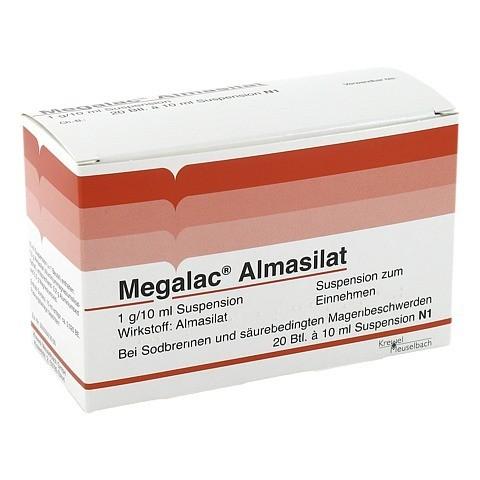 Megalac Almasilat Beutel 20x10 Milliliter N1