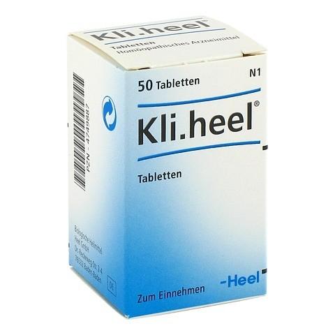 KLI.HEEL Tabletten 50 Stück N1