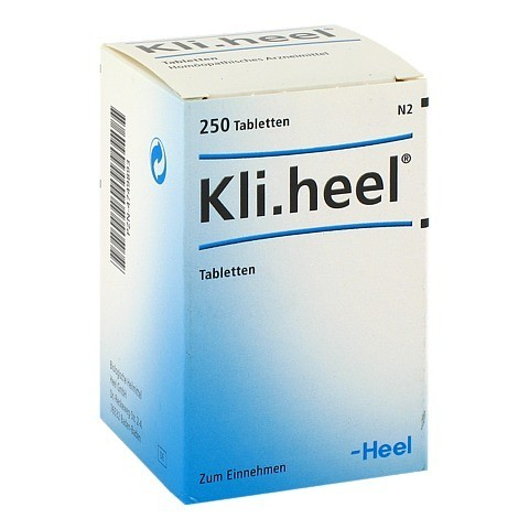 KLI.HEEL Tabletten 250 Stück N2