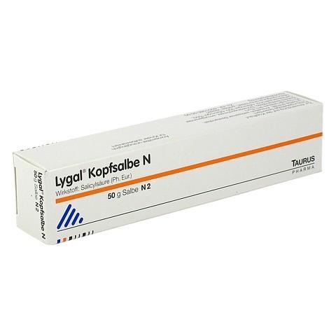 Lygal Kopfsalbe N 3% 50 Gramm N2