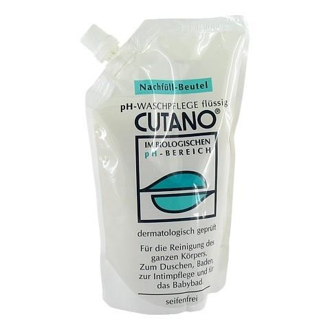 CUTANO Waschpflege flüssig Nachf.Btl. 500 Milliliter