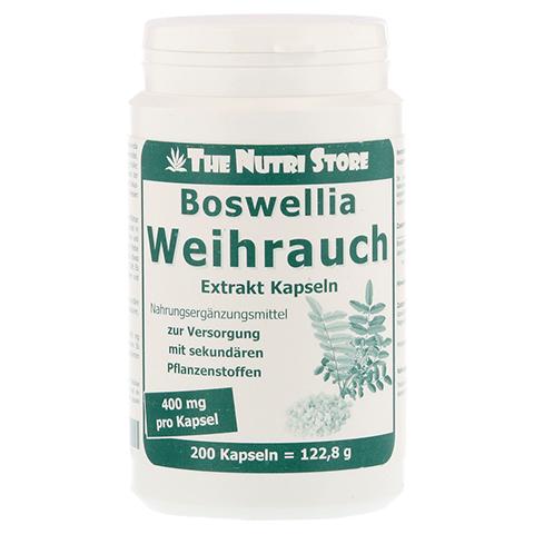 WEIHRAUCH 400 mg Extrakt veget.Kapseln 200 Stück