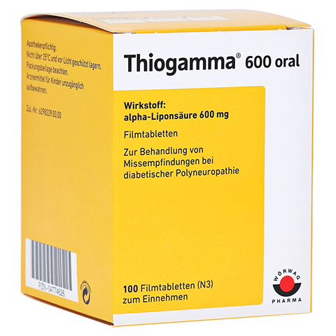 Thiogamma 600 oral 100 Stück N3
