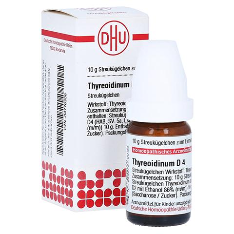 THYREOIDINUM D 4 Globuli 10 Gramm N1