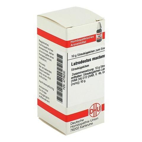 LATRODECTUS mactans D 12 Globuli 10 Gramm N1