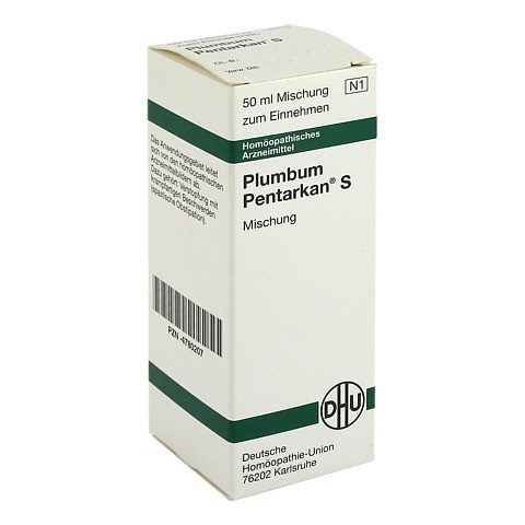 PLUMBUM PENTARKAN S Liquidum 50 Milliliter N1