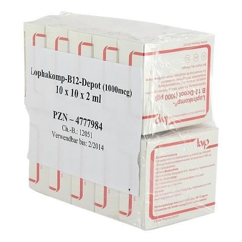 LOPHAKOMP B 12 Depot 1000 µg Injektionslösung 100x2 Milliliter