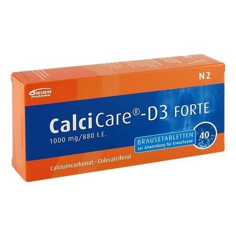CalciCare-D3 FORTE 1000mg/880I.E. 40 Stück