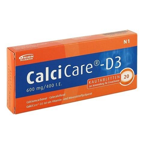 CalciCare-D3 600mg/400I.E. 20 Stück N1