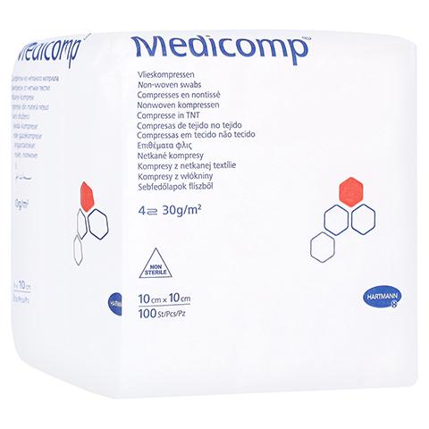 MEDICOMP Kompressen 10x10 cm unsteril 100 Stück