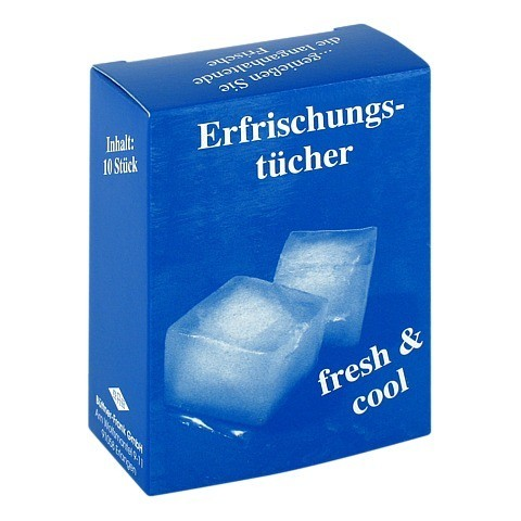 ERFRISCHUNGSTUCH Cool Fresh 10 Stück