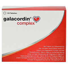 GALACORDIN complex Tabletten 120 Stück - Vorderseite
