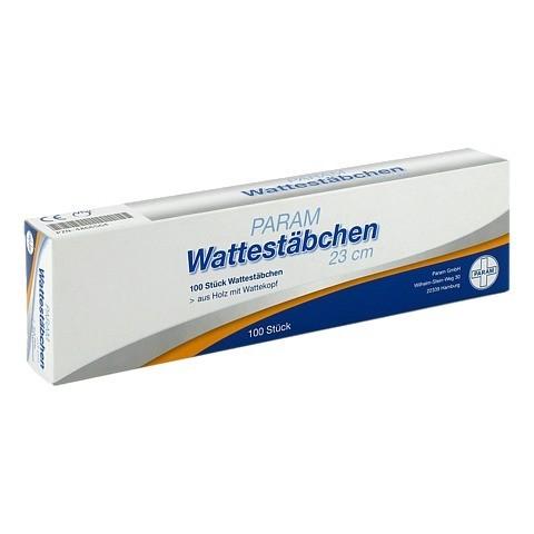 WATTESTAB m.Wattekopf 23 cm 100 Stück