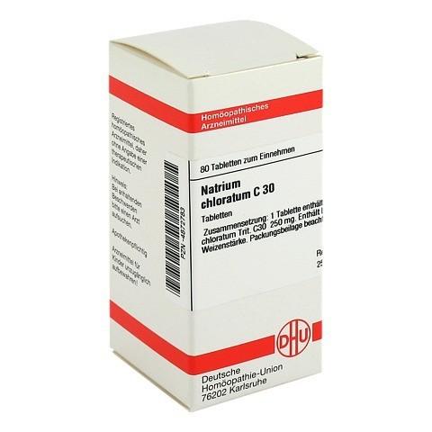 NATRIUM CHLORATUM C 30 Tabletten 80 Stück