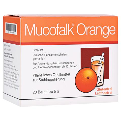 Mucofalk Orange Beutel 20 Stück N1