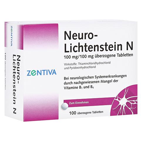 NEURO LICHTENSTEIN N Dragees 100 Stück N3
