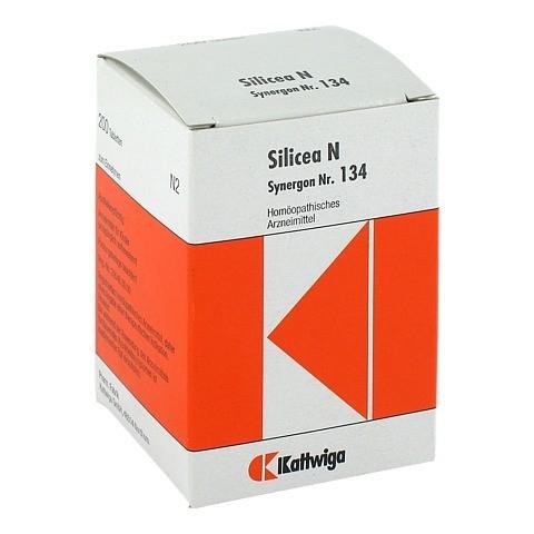 SYNERGON KOMPLEX 134 Silicea N Tabletten 200 Stück