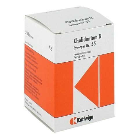 SYNERGON KOMPLEX 55 Chelidonium N Tabletten 200 Stück