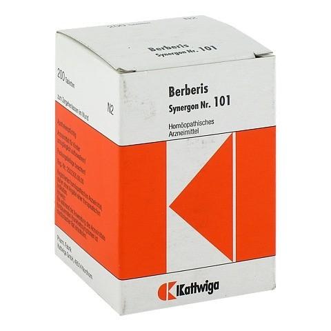 SYNERGON KOMPLEX 101 Berberis Tabletten 200 Stück