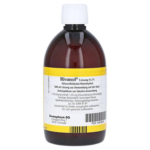 Rivanol Lösung 0,1% 500 Milliliter N3