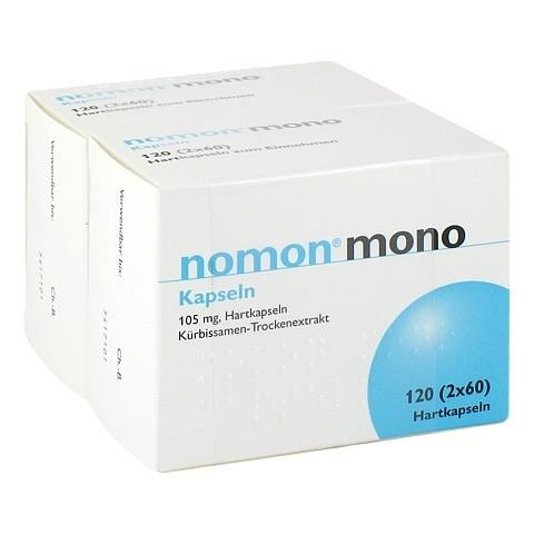 Nomon mono Hartkapseln 120 Stück N2