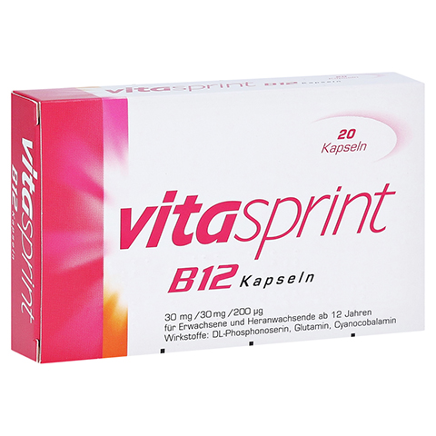 VITASPRINT B12 Kapseln 20 Stück