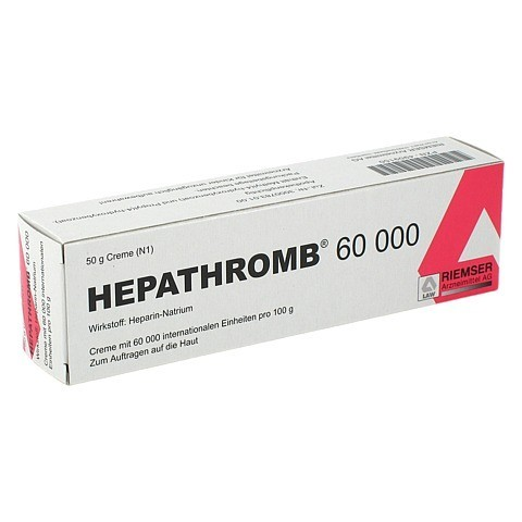 Hepathromb 60000 50 Gramm N1
