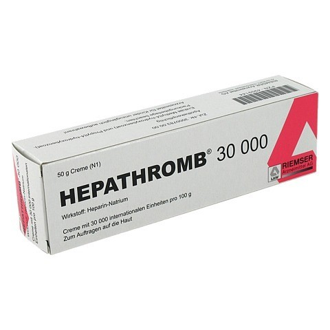 Hepathromb 30000 50 Gramm N1