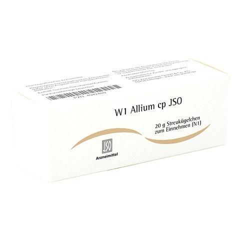 JSO W 1 Allium cp Globuli 20 Gramm N1