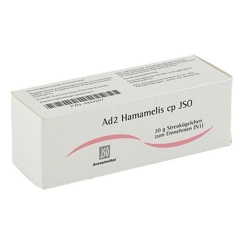 JSO Ad 2 Hamamelis cp Globuli 20 Gramm N1