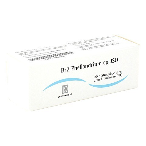 JSO Br 2 Phellandrium cp Globuli 20 Gramm N1