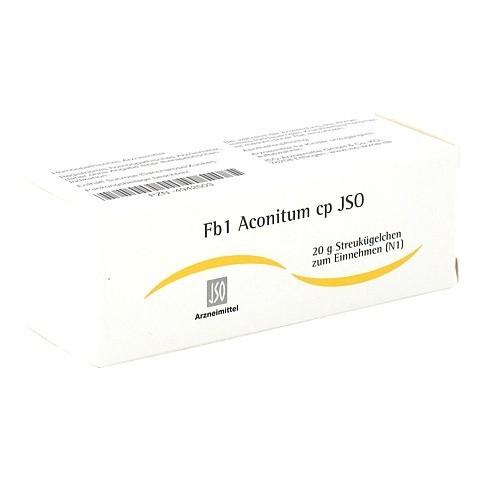 JSO Fb 1 Aconitum cp Globuli 20 Gramm N1