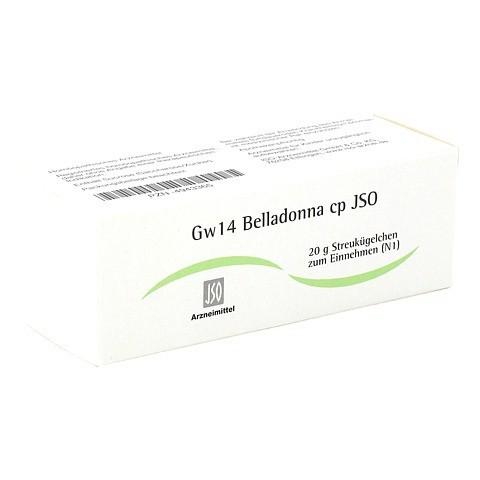 JSO Gw 14 Belladonna cp Globuli 20 Gramm N1