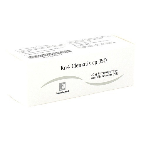 JSO Kn 4 Clematis cp Globuli 20 Gramm N1