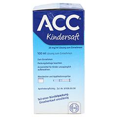 ACC Kindersaft 200 Milliliter N3 - Linke Seite