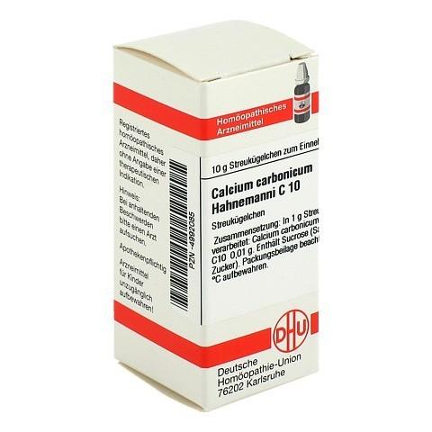 CALCIUM CARBONICUM Hahnemanni C 10 Globuli 10 Gramm N1
