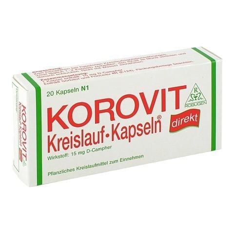 KOROVIT Kreislauf-Kapseln 20 Stück