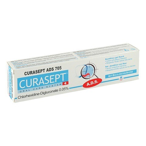 CURASEPT Zahnpasta 0,05% CHX ADS705 75 Milliliter