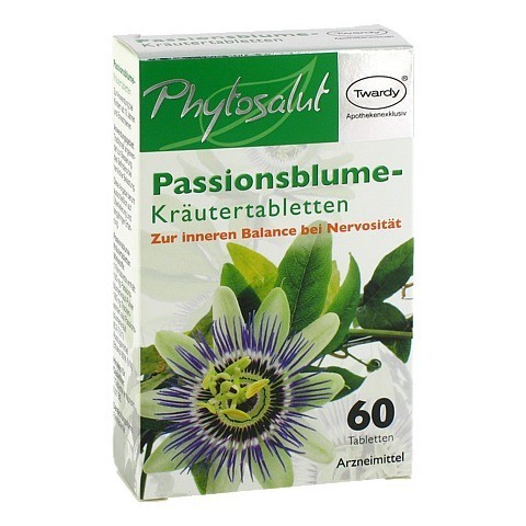 phytosalut passionsblume kr utertabletten 60 st ck online. Black Bedroom Furniture Sets. Home Design Ideas