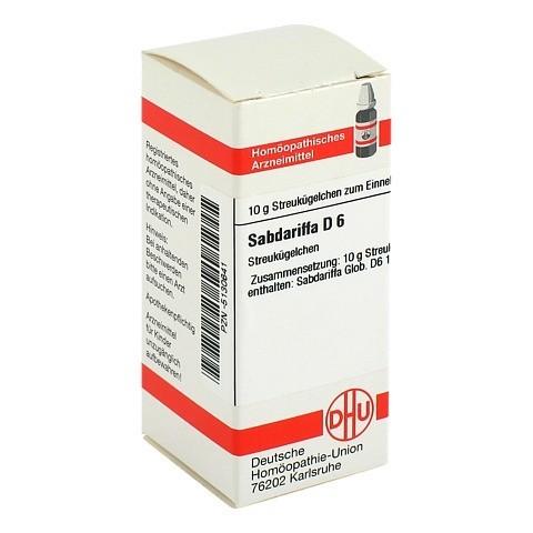 SABDARIFFA D 6 Globuli 10 Gramm