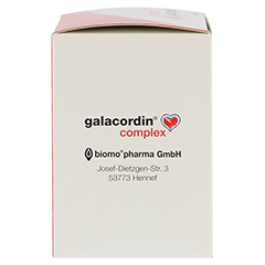 Galacordin Complex Tabletten 120 Stück - Rechte Seite
