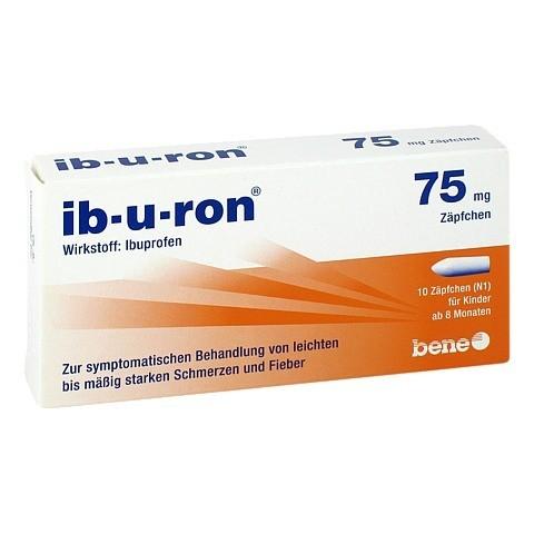 Ib-u-ron 75mg 10 Stück N1