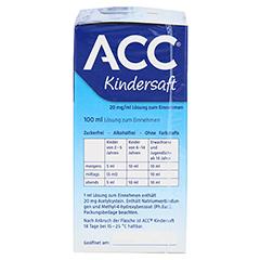 ACC Kindersaft 200 Milliliter N3 - Rechte Seite
