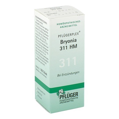 PFLÜGERPLEX Bryonia 311 HM Tabletten 100 Stück N1