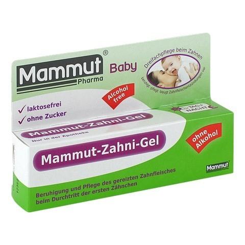 MAMMUT Baby Zahni Gel 10 Milliliter