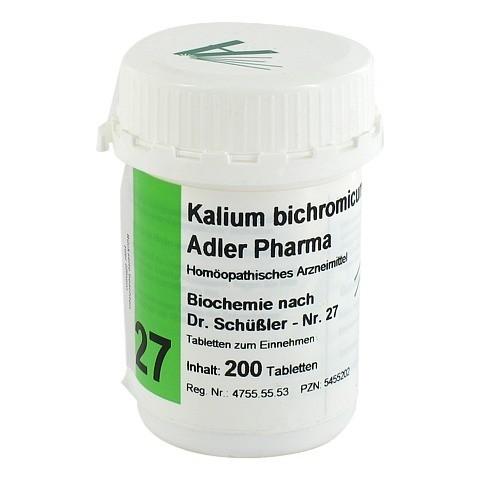 BIOCHEMIE Adler 27 Kalium bichrom D 12 Tabletten 200 Stück