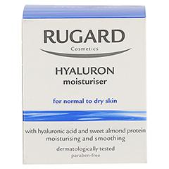 RUGARD Hyaluron Feuchtigkeitspflege 50 Milliliter - Rückseite