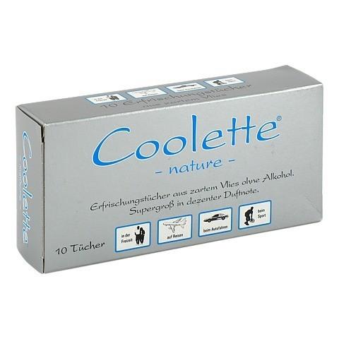 COOLETTE Nature Erfrischungstuch Vlies 10 Stück