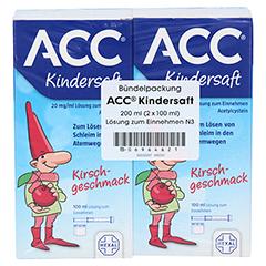 ACC Kindersaft 200 Milliliter N3 - Rückseite