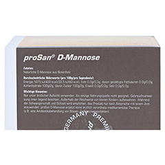 PROSAN D-Mannose Pulver 30 Stück - Oberseite